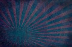 niebieska eksplozja czerwoną skórę Zdjęcia Stock