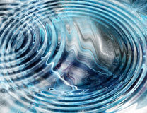 niebieska fractal grafiki Zdjęcie Stock