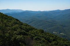 niebieska góry ridge Zdjęcia Royalty Free