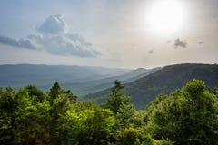 niebieska góry ridge Obraz Royalty Free