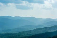 niebieska góry ridge Fotografia Stock