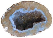 niebieska geoda Zdjęcie Royalty Free