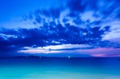 niebieska godzinę Zdjęcie Royalty Free