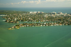 niebieska green Miami Zdjęcie Royalty Free