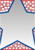 niebieska gwiazda Obrazy Stock