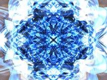 niebieska gwiazda Obraz Royalty Free