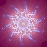 niebieska gwiazda Obraz Stock