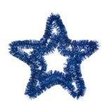 niebieska gwiazda Obrazy Royalty Free