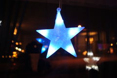 niebieska gwiazda Fotografia Royalty Free