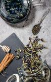 niebieska herbaty Zdjęcie Stock