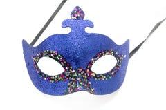 niebieska karnawał maska Zdjęcie Royalty Free