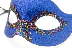 niebieska karnawał maska Obrazy Stock