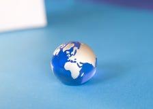 niebieska kulę Obrazy Stock