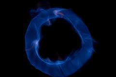 niebieska kula ognia Obrazy Stock