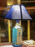 niebieska lampa Fotografia Royalty Free