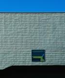 Niebieska linia Obrazy Stock