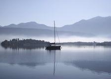 niebieska mgła Zdjęcia Stock