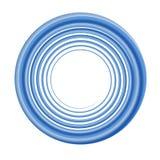 niebieska okólniki rama ilustracja wektor
