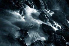 niebieska rzeki Obraz Royalty Free