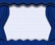 niebieska scena Obrazy Stock