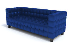 niebieska sofa ilustracja wektor