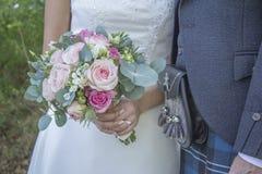 niebieska szczegółów kwiat podwiązka gotham jest zatruty ślub Zdjęcia Royalty Free