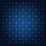 niebieska tła ciemnej nieskończoności Obrazy Royalty Free