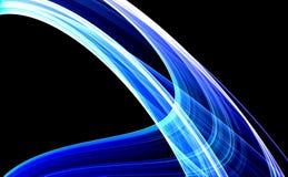 niebieska tła 3 d Zdjęcia Royalty Free