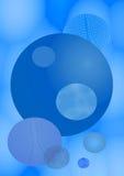 niebieska tła Zdjęcia Royalty Free
