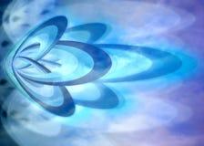 niebieska tła abstrakcyjne Zdjęcia Stock