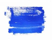 niebieska tła malowaniu Zdjęcie Royalty Free