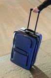 niebieska walizka Obraz Royalty Free