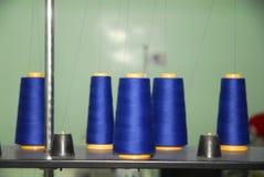 niebieska większy od szpulki Zdjęcie Royalty Free