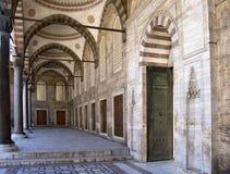 niebieski 11 meczetu Zdjęcie Royalty Free
