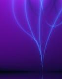 niebieski abstrakcyjne wpływu projektu światło - fioletowy Zdjęcie Stock