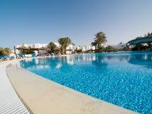 niebieski basen opływa Zdjęcia Stock