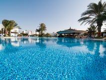 niebieski basen opływa Obrazy Royalty Free