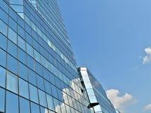 niebieski budynek Obrazy Stock
