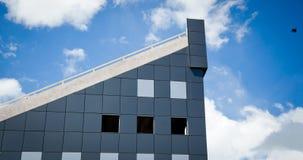 niebieski budynku nowoczesnego niebo Fotografia Royalty Free