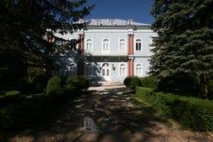 niebieski cetinje pałacu fotografia stock