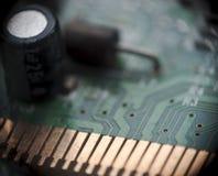 niebieski chip komputerowy odcień Zdjęcia Royalty Free