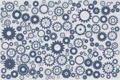niebieski clockworks tła ilustracji