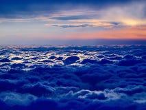 niebieski cloudscape Fotografia Royalty Free