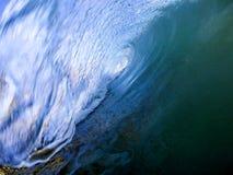 niebieski curl zdjęcie stock
