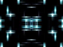niebieski cyfrowego abstrakcyjne Obrazy Royalty Free