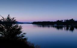 niebieski dawn w Missouri. obraz stock