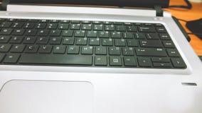 niebieski do zbliżenia głębokości wpływu pola komputerowy ucieczka filtr koncentrowała się kluczowe klawiaturową płytko promienio Zdjęcia Stock