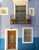 niebieski dom Fotografia Royalty Free