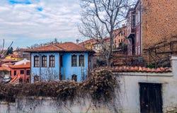 niebieski dom Zdjęcie Stock