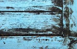 niebieski drewna Zdjęcia Royalty Free